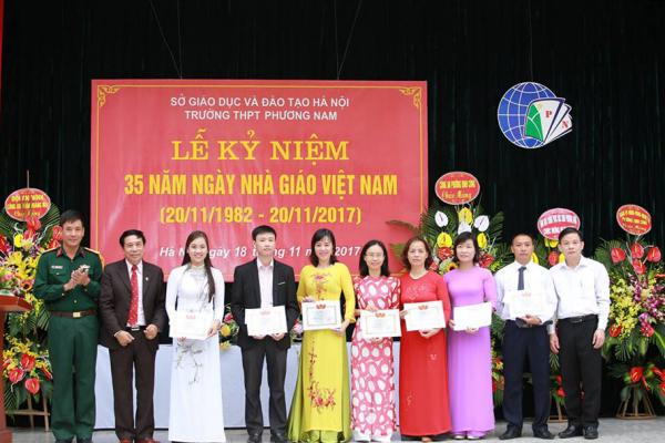 thpt phương nam kỷ niệm ngày nhà giáo việt nam 20-11-2017