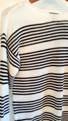 Market & Spruce Cordelia Striped Boat Neck Sweater