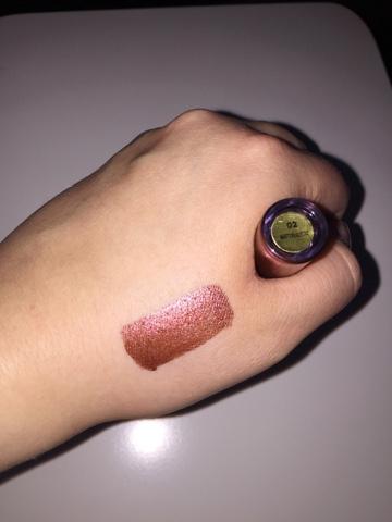 Milani Metallic Liquid Lipstick Swatches - Matterialistic