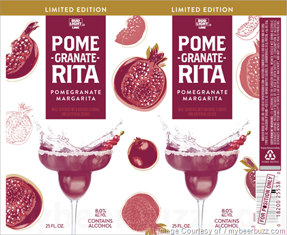 This Is Bud Light Pome Granate Rita And It Is A Pomegranate Margarita  Beverage. This Beverage Hits 8% AbV ...