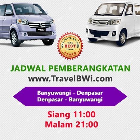 Jadwal Jam Travel Denpasar Banyuwangi Siang Malam