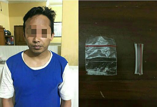 Miliki Shabu, Warga Bogor Ditangkap Sat Narkoba Polres Sukabumi