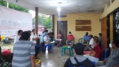 SMS-ST; Rapat Koordinasi Antara Pemda dan Seluruh Posko, Relawan Paca Badai Seroja