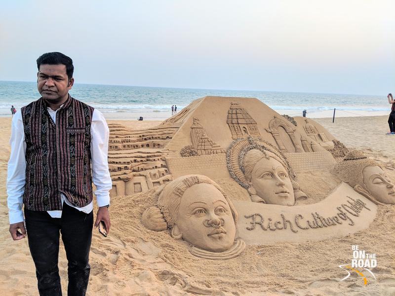 India's Sand Art specialist Sudarshan Patnaik