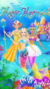 Magic Mermaid - Girls Makeup & Dress Up Salon Game - náhled