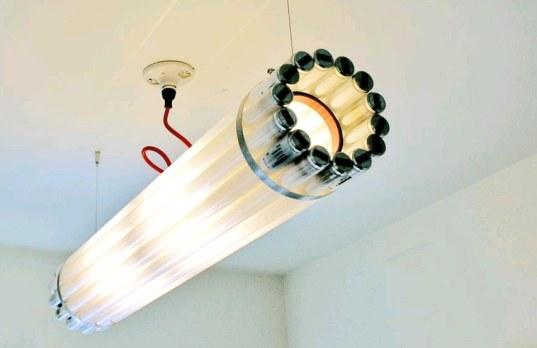 designerlampen 25 originelle lichtideen zum selber bauen. Black Bedroom Furniture Sets. Home Design Ideas