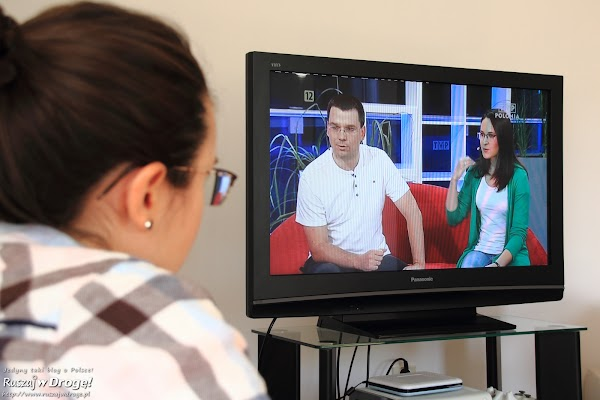 Kasia i Maciej w TV