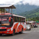 Lita : passage de la province d'Imbabura à celle d'Esmeraldas (Équateur), 1er décembre 2013. Photo : J.-M. Gayman