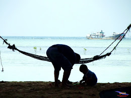 family trip pulau pari 140716 Fuji 040