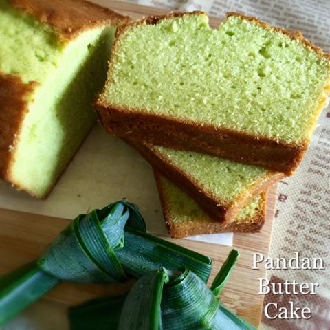 My Mind Patch Pandan Butter Cake 香兰奶油蛋糕