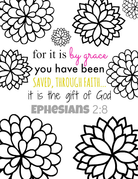 Ephesians  Bible Verse Coloring Page  Heres My Latest Free Printable  Adult Coloring