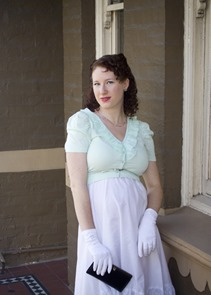 A Decade of Style Challenge - 2011 Vintage Fashion   Lavender & Twill