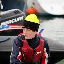 Irish Opi nationals day 2 regatta fleet (Paul Keal)