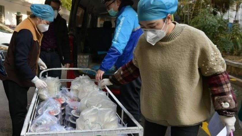 La Cruz Roja China recibe 110 millones en donaciones para combatir el nuevo coronavirus. (Foto: Xinhua).