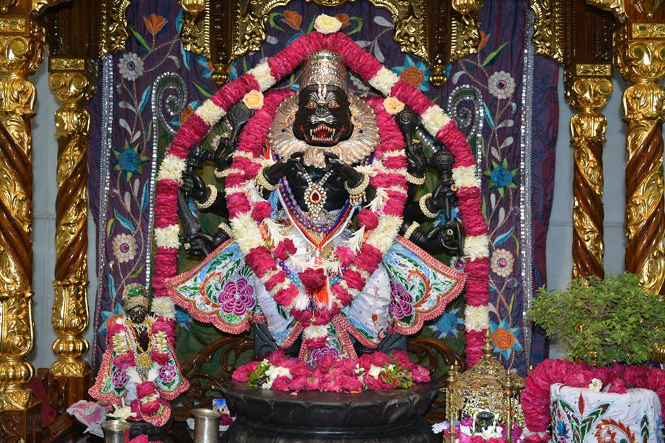 ISKCON Ujjain  Deity Darshan 22 July  2016 (5)