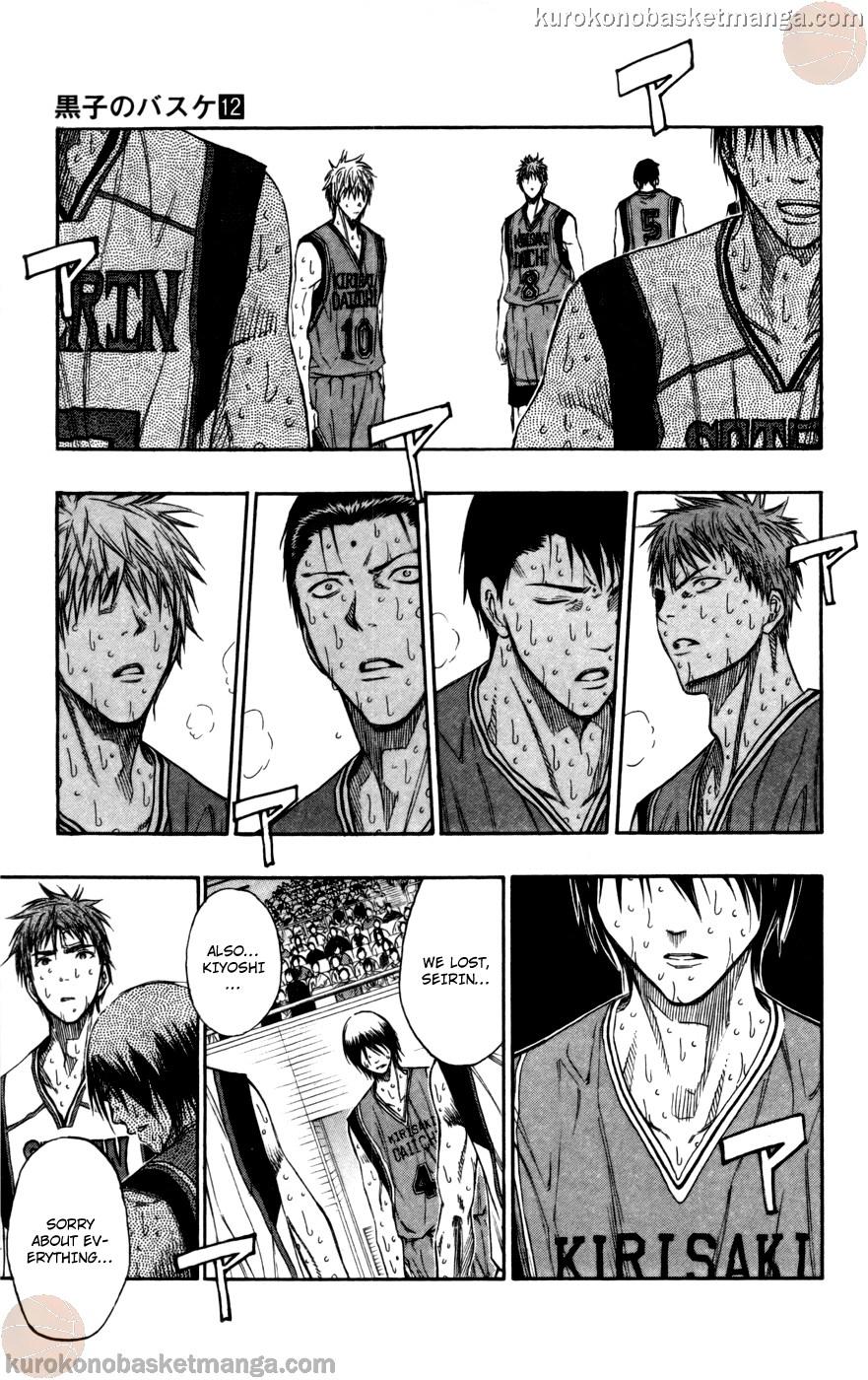 Kuroko no Basket Manga Chapter 108 - Image 05