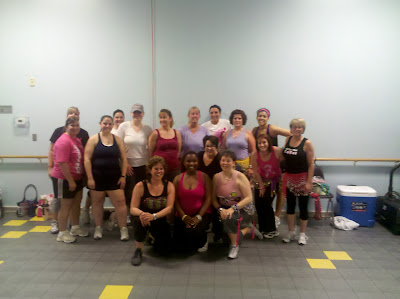 Barb Girson danced for a cause! We raised money for the Susan G Komen Foundation while participating in the Cha Cha for Ta Ta's - Dance Til You Drop!