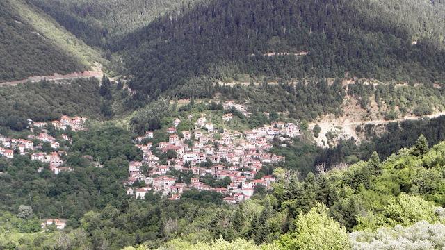 Το Μεγάλο Χωριό από το παλαιό Μικρό Χωριό