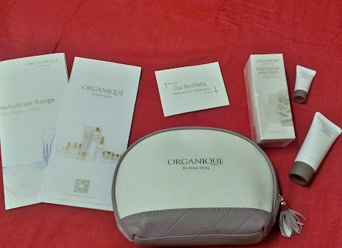 Travel kit set by organique skincare