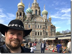 The church of the Saviour of the Spilled Blood, Saint-Petersburg, Russia.