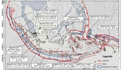 Gempa Lombok Picu Gempa Megathrust, Video Gempa Lombok adalah Hoak