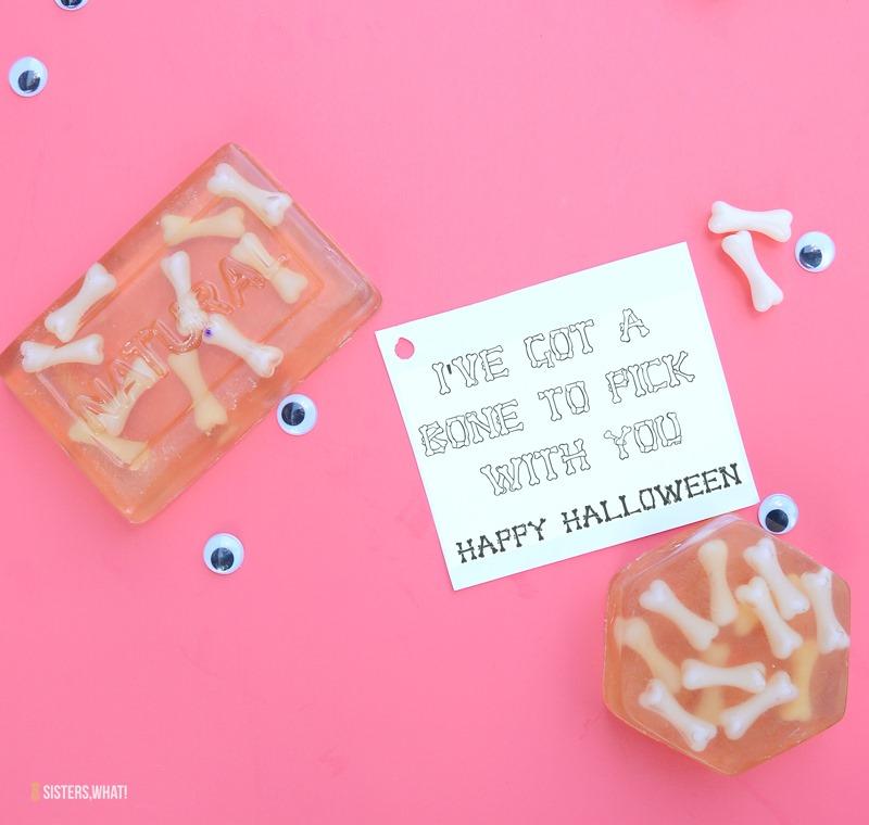 halloween printable spooky soap
