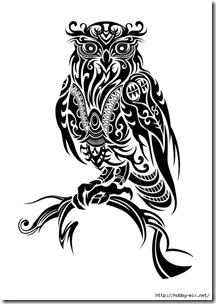 dibujos de buhod en blanco y negro (19)