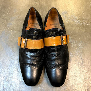 Dries Van Noten Black Brogues