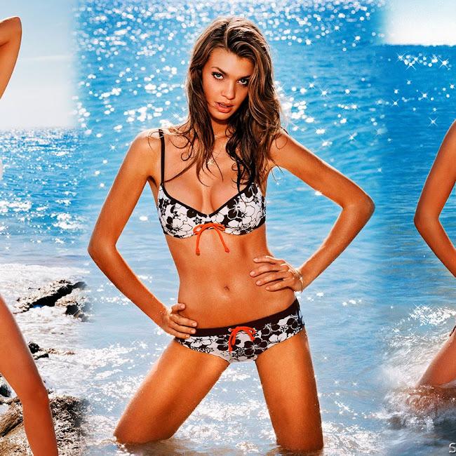 Catrin Claeson - Femilet Swimwear Summer 2009 Foto 10