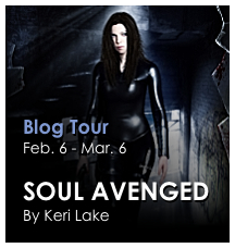 Soul Avenged Blog Tour hosted by Keri Lake