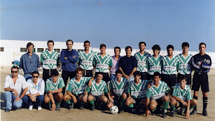 El Carboneras de los años noventa en Tercera División.
