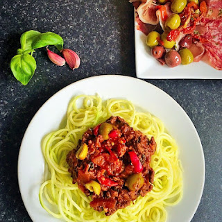 Paleo Spaghetti Bolognese with Authentic Tomato Sauce