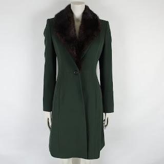 Derek Lam Mink Collar Coat