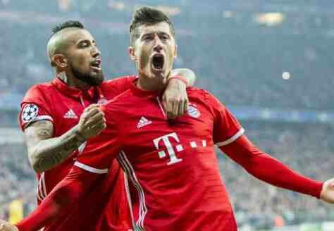 Bayern Munich vs Arsenal Champions League Match Highlight