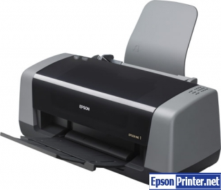 How to reset Epson ME-1 printer