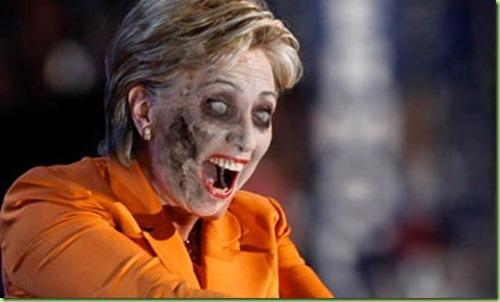 vote-the-hillary-zombie apocalypse