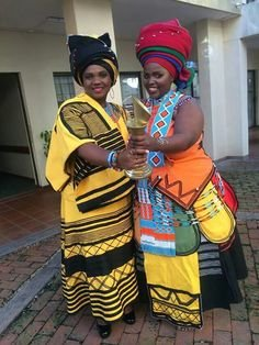 I Love Xhosa Traditional Wear Outfit For 2018 Fashionre