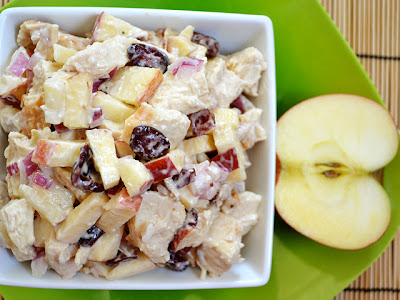 chicken & apple salad