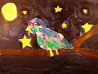 Collage Bird by Mackenzie