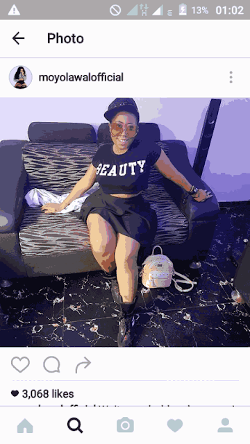 Actress Moyo Lawal Denies Being Suicidal Or Depressed