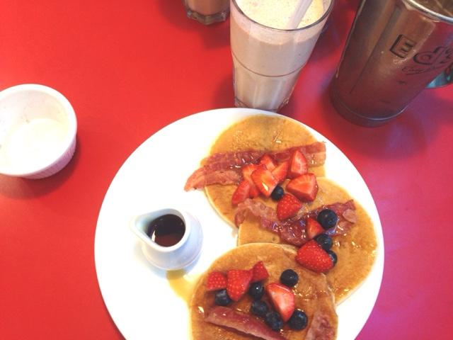 ed's diner pancakes breakfast