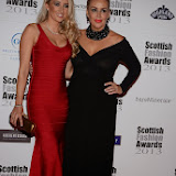 WWW.ENTSIMAGES.COM -    Jane Given and Tessa Hartmann  at    Scottish Fashion Awards  at 8 Northumberland London October 9th 2013                                                 Photo Mobis Photos/OIC 0203 174 1069