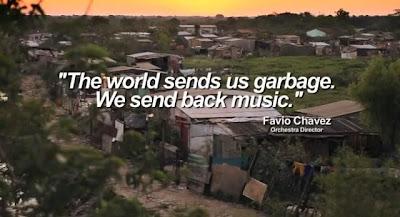 Como instrumentos feitos de lixo mudaram a vida de crianças pobres no Paraguai