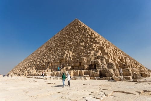 Great Pyramids and Sphinx Egypt