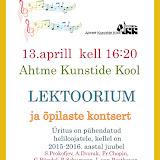 AhtmeKunstideKoolisKontsertLoeng2016