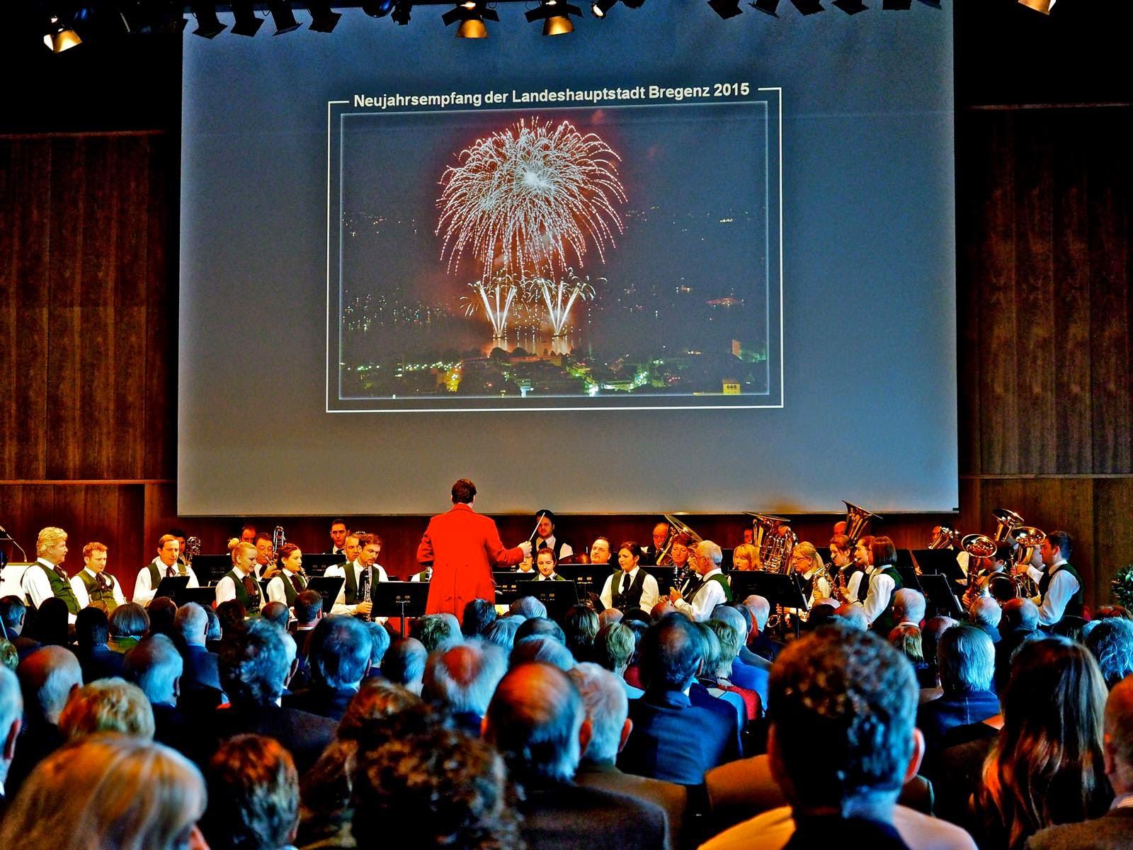 Neujahrsempfang Festspielhaus am 06.01.2015