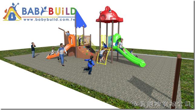 BabyBuild海盜船木製遊具
