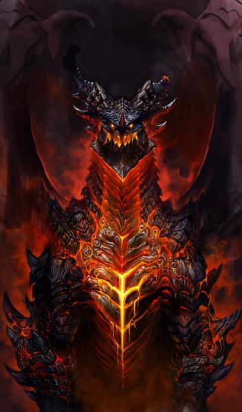 Evil, Dragons