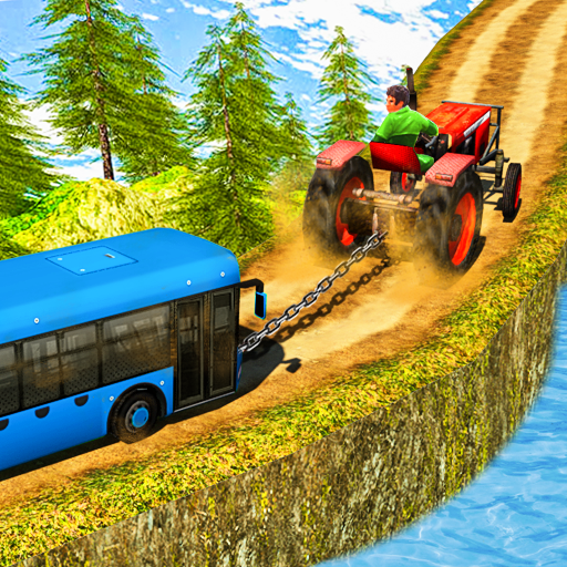 Chained Tractor Towing Bus for PC