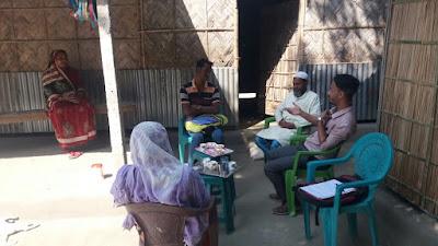 Home visit to Chalabila No 2, Bongaigaon